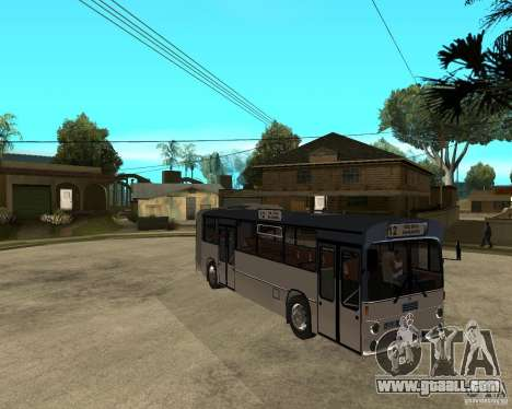 Mercedes Benz O 305 G for GTA San Andreas right view