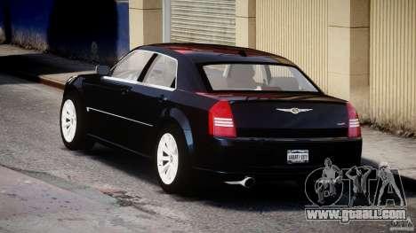Chrysler 300C SRT8 for GTA 4 back left view