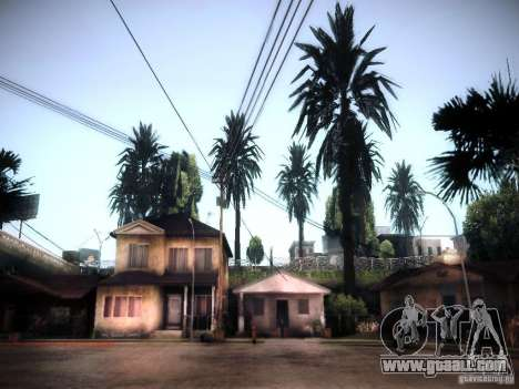 New trees HD for GTA San Andreas