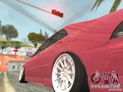 Lexus IS300 HellaFlush for GTA San Andreas right view