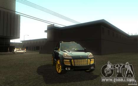 Porsche Cayenne gold for GTA San Andreas right view