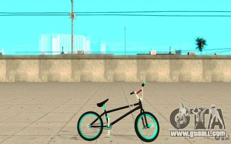 REAL Street BMX mod Black Edition for GTA San Andreas left view