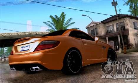 Mercedes Benz SLK55 R172 AMG for GTA San Andreas left view