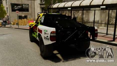 Toyota Tundra Karin Sahara v3.0 for GTA 4 back left view