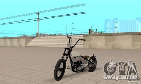 HD Shovelhead Chopper v2.1-matte for GTA San Andreas
