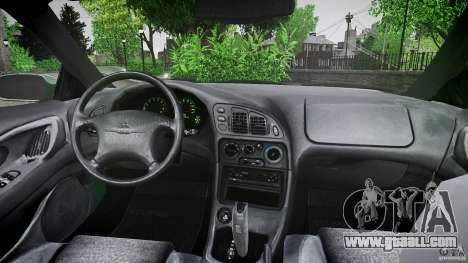 Mitsubishi Eclipse 1998 for GTA 4 bottom view