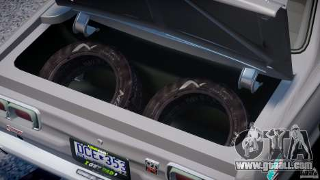 Nissan Skyline Hakosuka (KPGC10) Mountain Drift for GTA 4 back view