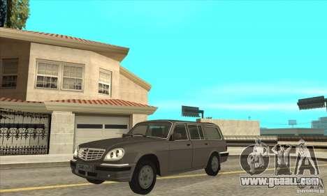 GAZ 311052 Volga (restyling) v1.0 for GTA San Andreas