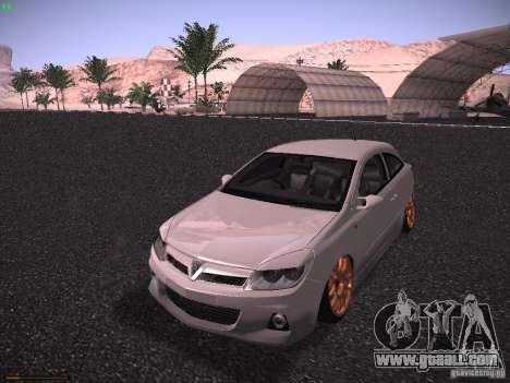 Vauxhall Astra VXR Tuned for GTA San Andreas