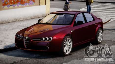 Alfa Romeo 159 Li for GTA 4 right view