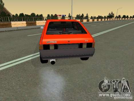 Azlk-2141 45 Svyatogor for GTA San Andreas back left view