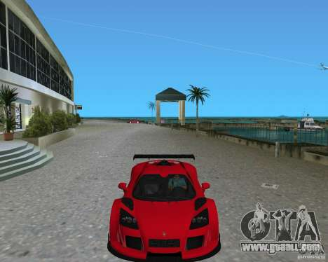 Gumpert Apollo Sport for GTA Vice City right view