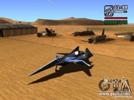 ADF01 Falken for GTA San Andreas left view