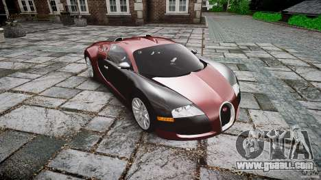 Bugatti Veyron 16.4 v3.0 2005 [EPM] Machiavelli for GTA 4 back view