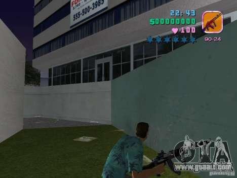 AK-103 for GTA Vice City second screenshot