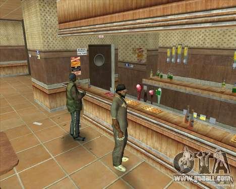 Salierys Bar for GTA San Andreas seventh screenshot