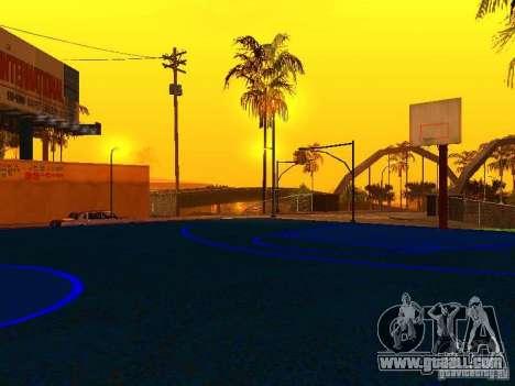 Basketball court for GTA San Andreas fifth screenshot