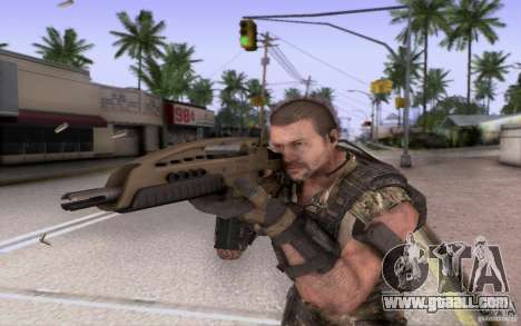 HK XM8 eotech for GTA San Andreas third screenshot
