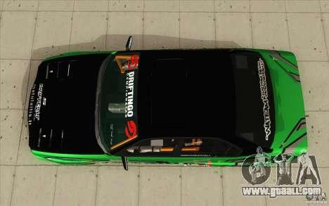 BMW E34 V8 Wide Body for GTA San Andreas right view