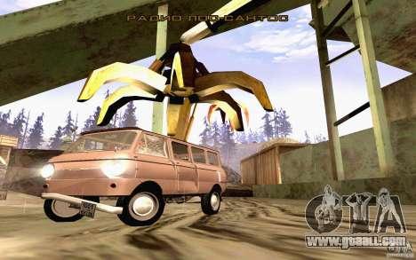 ZAZ 970 for GTA San Andreas interior