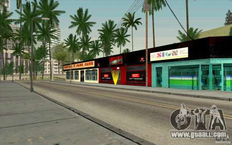 Cropp Town SHOP for GTA San Andreas third screenshot