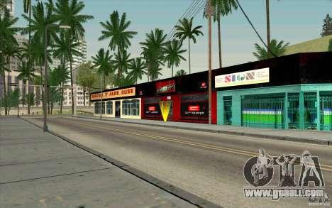 Cropp Town SHOP for GTA San Andreas third screenshot