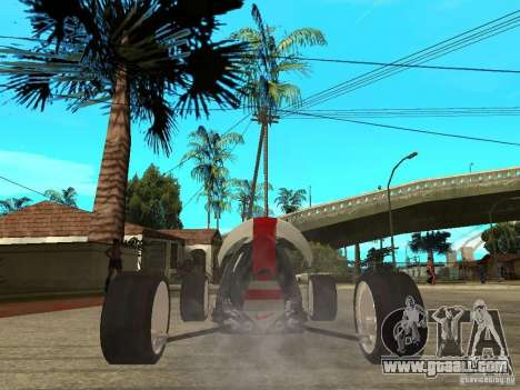 Nike One for GTA San Andreas back left view