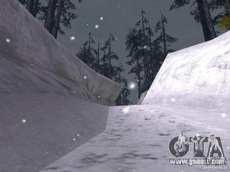 Snow for GTA San Andreas eleventh screenshot