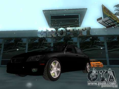 Lexus IS300 for GTA San Andreas interior