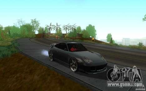 Ruf R-Turbo for GTA San Andreas back view