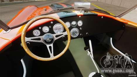 AC Cobra 427 for GTA 4 right view