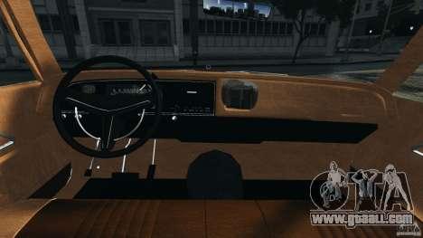 Dodge Monaco 1974 Taxi v1.0 for GTA 4 back view