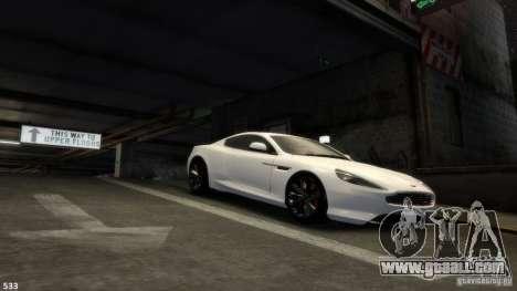 Aston Martin Virage 2012 v1.0 for GTA 4 wheels