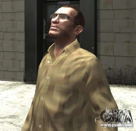 New glasses for Niko-bright for GTA 4 second screenshot