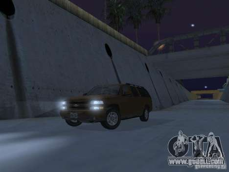Chevrolet Suburban 2003 for GTA San Andreas interior