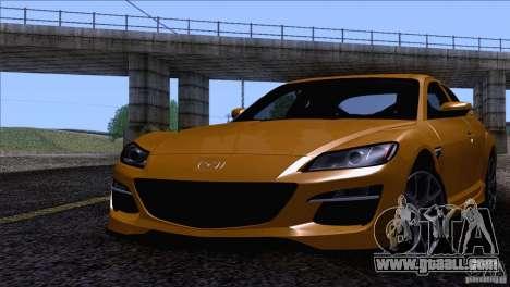 Mazda RX8 R3 2011 for GTA San Andreas