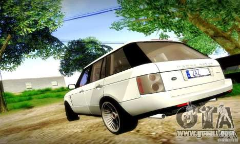Range Rover Supercharged for GTA San Andreas side view