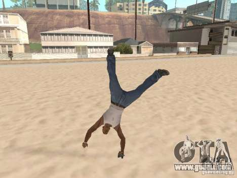 Parkour 40 mod for GTA San Andreas forth screenshot