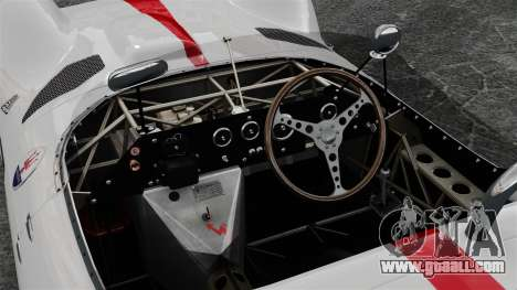 Maserati Tipo 60 Birdcage for GTA 4 back view