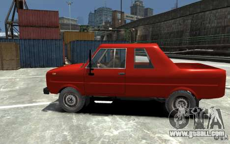 FSR Tarpan 237D for GTA 4 left view