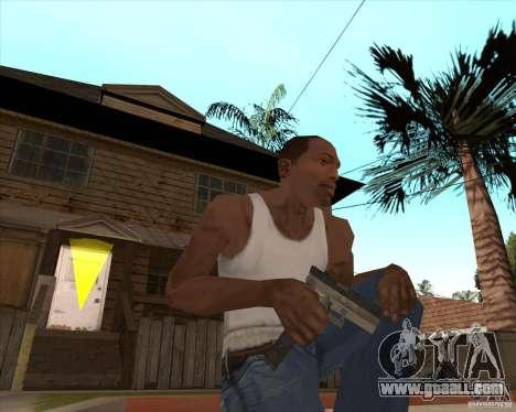 CoD:MW2 weapon pack for GTA San Andreas ninth screenshot