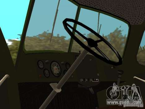 ZIL 164P for GTA San Andreas back view
