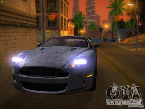 Aston Martin DBS for GTA San Andreas upper view