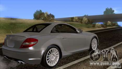 Mercedes-Benz SLK 55 AMG for GTA San Andreas left view