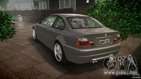BMW M3 e46 v1.1 for GTA 4 back left view