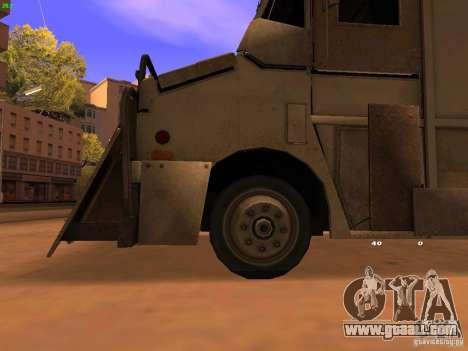 Monster Van for GTA San Andreas right view