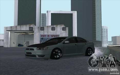 Proton Inspira Stance for GTA San Andreas left view