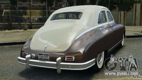 Packard Eight 1948 for GTA 4 right view