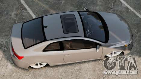 Kia Cerato Koup Edit for GTA 4 right view