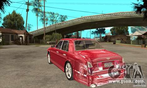 Bentley Arnage T for GTA San Andreas right view